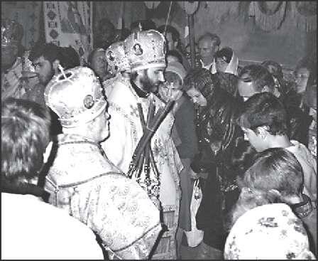 «Интронизация патриарха» УАПЦ Димитрия (Яремы). Киев, 14 октября 1993 г.