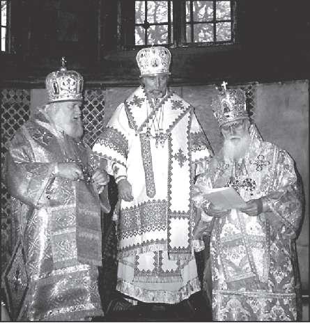 «Интронизация патриарха» УПЦ-КП Владимира (Романюка). Киев, 21 октября 1993 г.