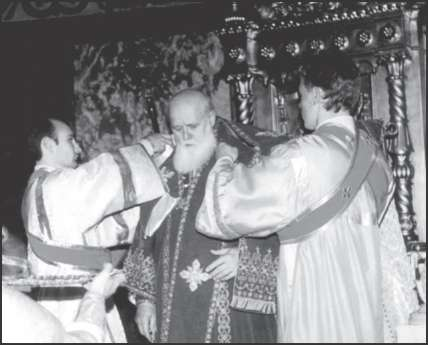 «Интронизация патриарха» УПЦ-КП Филарета (Денисенко). Киев, 22 октября 1995 г.