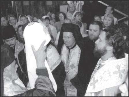 «Интронизация патриарха» УАПЦк Моисея (Кулика). Киев, 18 июня 2005 г.